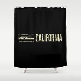 Black Flag: California Shower Curtain