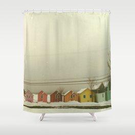 Tropical Heat Wave Shower Curtain