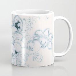 Vintage Flower Flow Coffee Mug