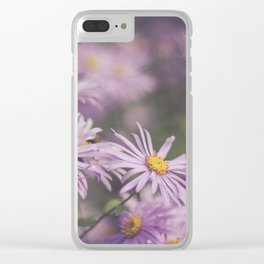 purple Clear iPhone Case
