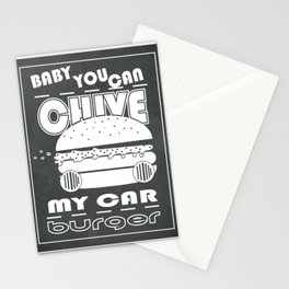 Baby, You Can Chive My Car Stationery Cards