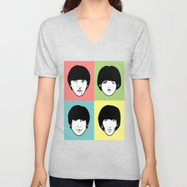 The Four Headed Monster Unisex V-Neck