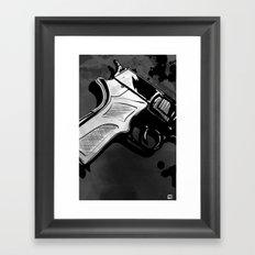 Gun #4 Framed Art Print