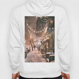 Snow - New York City - East Village Hoody