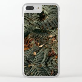 Dark Embrace Clear iPhone Case