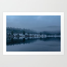 Reflections on a Lake - Landscape Photography Art Print