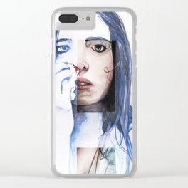 Luna (Bloody Mirror series) Clear iPhone Case