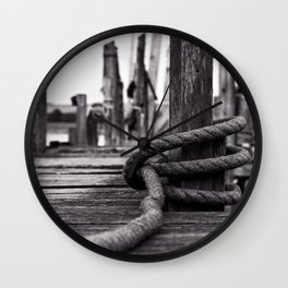 Mooring Hitch Wall Clock
