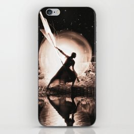 Protector of light iPhone Skin