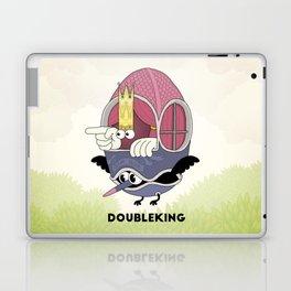 DOUBLE KING: Ovum Regia Laptop & iPad Skin