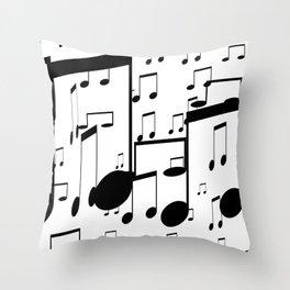 music notes Deko-Kissen