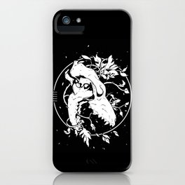Worship the dark iPhone Case