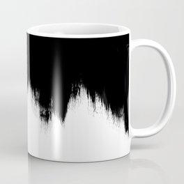 Black And White Abstract Art Coffee Mug
