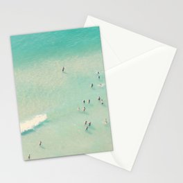 beach summer waves Stationery Cards