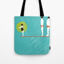 Believing that I can do it and that I am wonderful Tote Bag