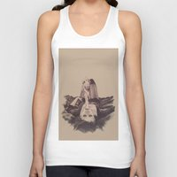 smoke Tank Tops featuring smoke by Andreea Red