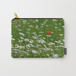 Poppy seed on a meadow Carry-All Pouch