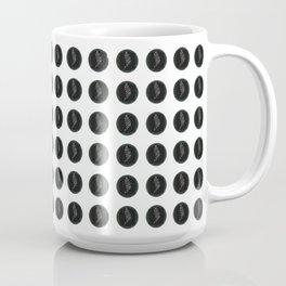(Overworked) Guardian Angel Polka Dots Coffee Mug