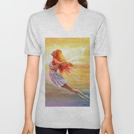 Bliss Unisex V-Neck