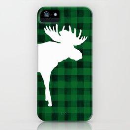 Woodland Moose iPhone Case