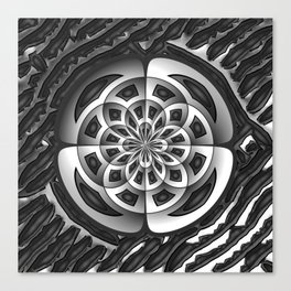 Metal object Canvas Print