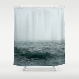 Choppy Seas Shower Curtain