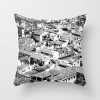 florence Throw Pillows featuring Florence by frankWAYNE