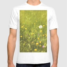 Make a wish White Mens Fitted Tee MEDIUM