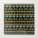 Egyptian  Ornament Symbols Pattern by k9printart