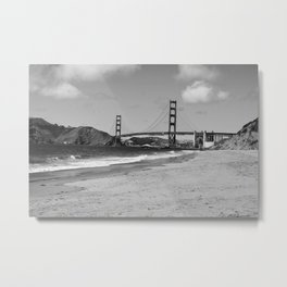 Baker Beach Metal Print