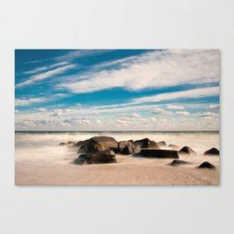 Sea Girt Beach II Canvas Print