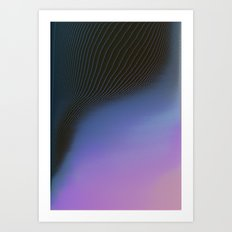 Ever So Slightly Art Print