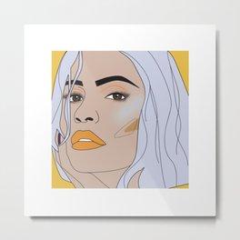 lip filler 1 Metal Print