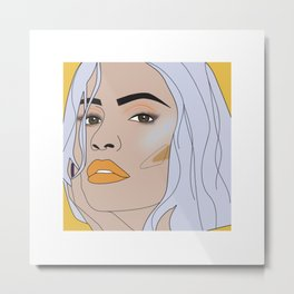 lip filler 1 Metal Print