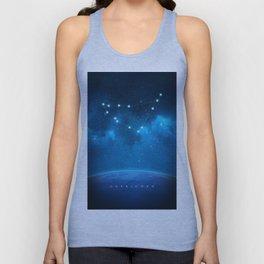 Capricorn: Astrological Art Unisex Tank Top