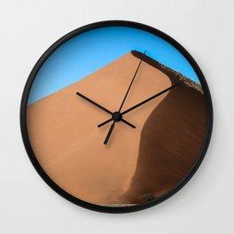 Dune Hike Wall Clock