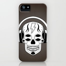 Groovy Skull iPhone Case