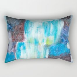 Moon Falls Rectangular Pillow