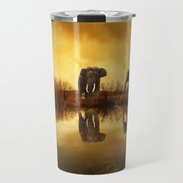 Elephant 3 Travel Mug