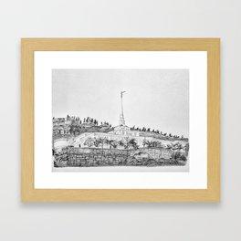 Billings Montana Temple Framed Art Print
