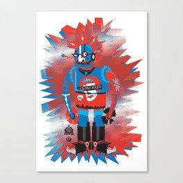 Punkbot! Canvas Print