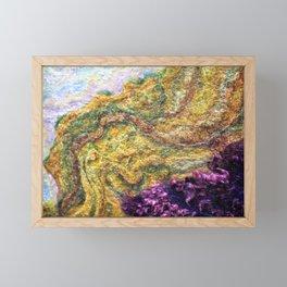 Flow I - FELT Expressions Framed Mini Art Print