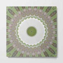 New Color Pyramidal Mandala 41 Metal Print