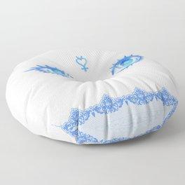 Sailor Mercury Eyes Floor Pillow