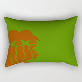 Crying Pepe Simple Rectangular Pillow