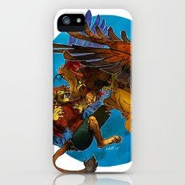 Sphinx vs. Gryphon iPhone Case