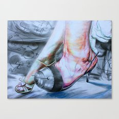 Arm race Canvas Print