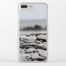 Pebble Beach Clear iPhone Case