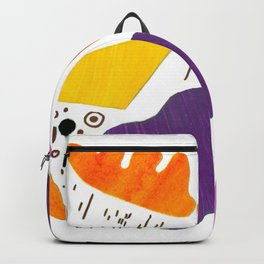 Violin sounds Original Modern Art Collage Backpack