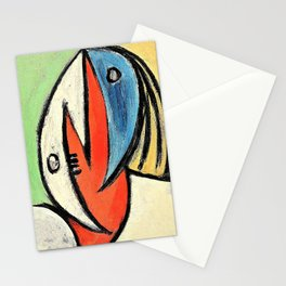 Pablo Picasso - Head - Digital Remastered Edition Stationery Cards